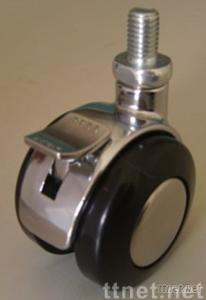 Hooded Casters( Zinc-plating)