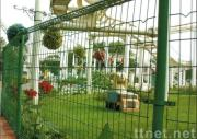 Mobile wire mesh  fence