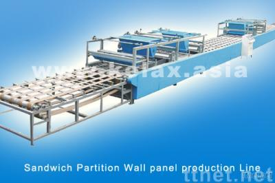 Sandwich Partition Wall Panel Machinery