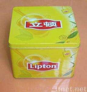Tea Tin Box,Square Tin Can