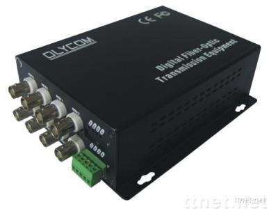 8ch video transmitter and receiver, video converter