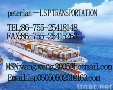 freight carrier between china and worldwide