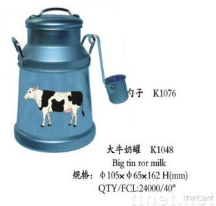 Big  tin ror milk
