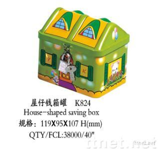 House Money Tin Box