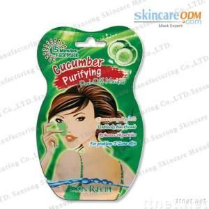 Cucumber Purifying Peel-Off Masque--One-application Pack