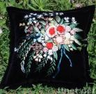 Hand-made Embroidery Cushion Cover