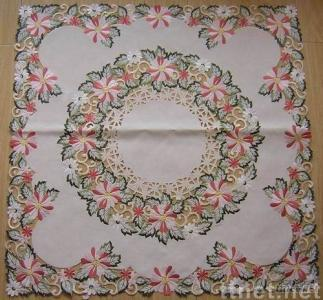 nice embroidery tablecloth