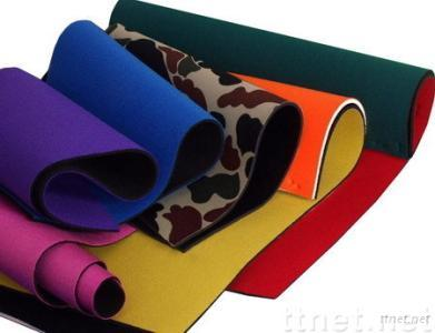Neoprene Rubber Sheet with Nylon Fabric
