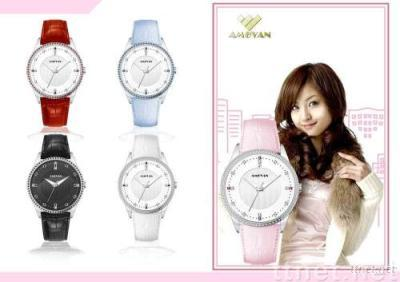 Sports watches jewelry watches quartz watches wrist watches swiss watches crystales watch lady watches CRYSTAL