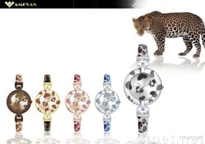 Fashion watches Sports watches jewelry watches quartz watches swiss watches crystal watches lady watches  LEOPARD