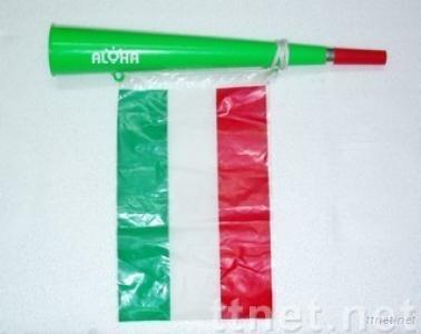 Plastic Woofer Horn with Flag