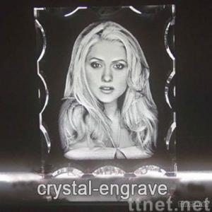 Custom 3d Crystal,Crystal Engrave Gifts