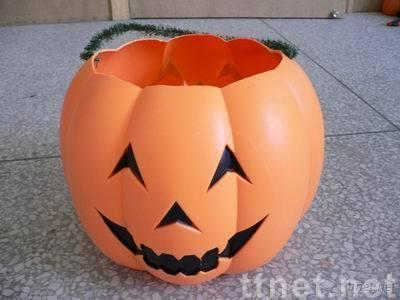 Halloween pumpkin, Halloween pumpkin lamp, Halloween light up pumpkin, Halloween pumpkin toy, plastic pumpkin,
