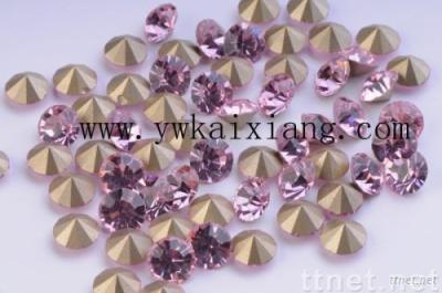 Chaton / Pointed back rhinestone