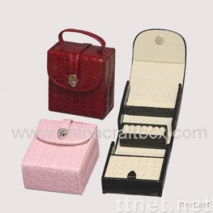 PU Leather Jewelry Box/Jewellery case