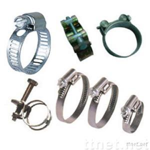 Steel, Stainless Steel Hose Clamps &  Clips