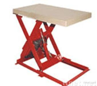 single scissor lift