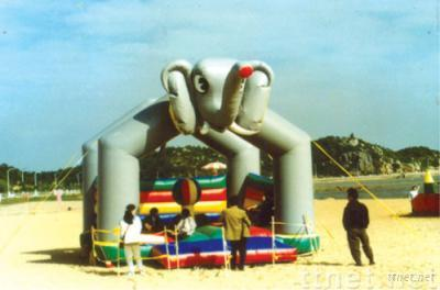 Sell inflatable castle,fun city,slide,climbing,inflatable cartoon,arch,air dancer,sky dancer,tent,climbing,marquee,toy