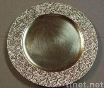 Plastic Charger Plate Silver & Plastic Charger Plate Silver Plastic Charger Plate Decorative ...