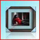 White Matboard Frame of Copper Classical Style