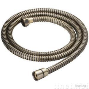 SS Blue-green Bronze Plate Shower Hose