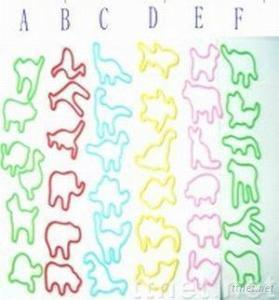 Hot selling glow animal shaped silly band