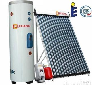 Separated pressurized solar water heater
