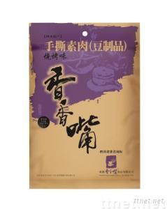 Hand-shredded vegetarian meat-like bean curd with barbeque flavor(112g)