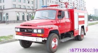 selling Dongfeng EQ140 fire tank 18771500288