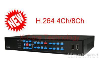 H.264 4Ch/ 8Ch Real Time Standalone 3G DVR - XVR264-0420/0820