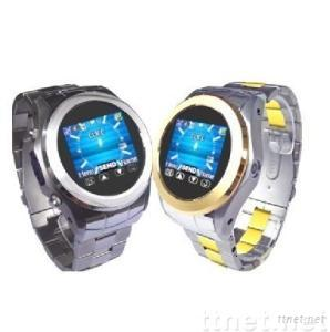 quad-band watch mobile phone