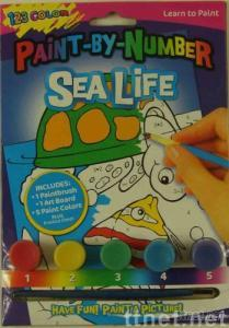 Paint-by-numbers Toy