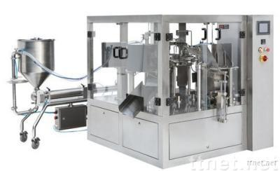 Rotary liquid&paste Pouch Packing Machine