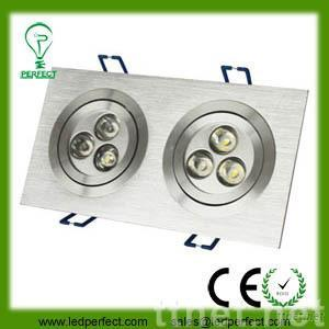 6W led down light