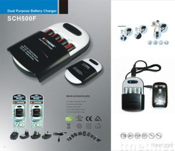 Emergency charger,Power bacnk  for Iphone ,mobile phone ,MP5,  USB charger for NI-MH NI-CD AA AAA batteries