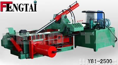 hydraulic scrap metal baling press