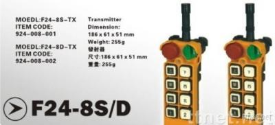 industrial remote control F24-8S/D