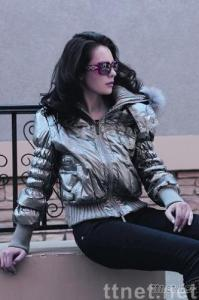 urban trend style down coat for lady
