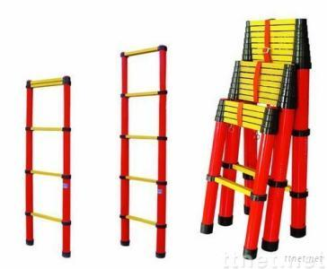 insulating telescopic ladder