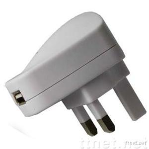 AC to USB Power Adapter-UK Version