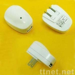 AC to USB Power Adapter (US Version, Pulldown plug )