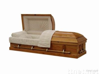Red Oak Casket