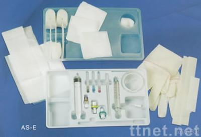 Disposable anesthesia puncture package