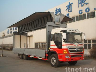 Wingspan truck, mobile stage truck mobile stage trailer