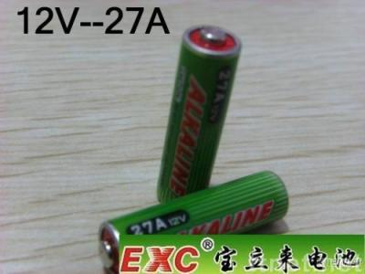 EXC 12V-27A Alkaline Battery