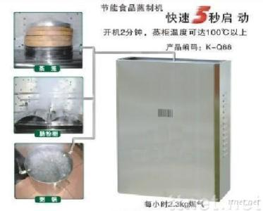 New type of food steamer with power of 26000W to 40000W
