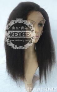 wholesale human hair full lace wig kinky curl