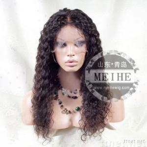 water wave 22 inch indian remy hair full lace wig