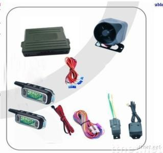 two way car alarm system with/without remote  engine start function (optional)