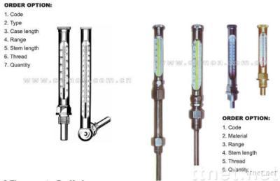 Industrial Metal Thermometer